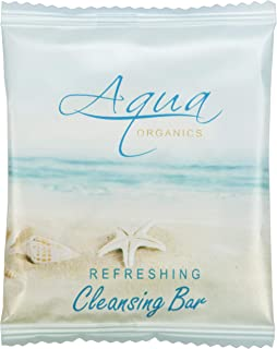 Aqua Organics Sachet Wrapped Cleansing Bar 0.5 oz. With Pure Aloe And Organic Olive Oil (Case of 1000)