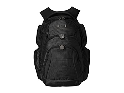 Kenneth Cole Reaction Pack of All Trades Computer Backpack (Black) Backpack Bags