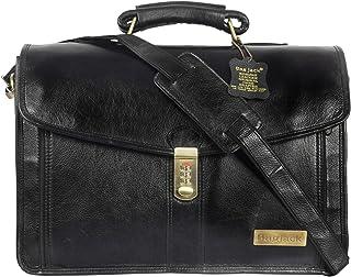 BAG JACK - Natural Grain Leather | Handcrafted | Eridanus | Dimension & Impressive | Leather Office Bag for Men | Laptop S...