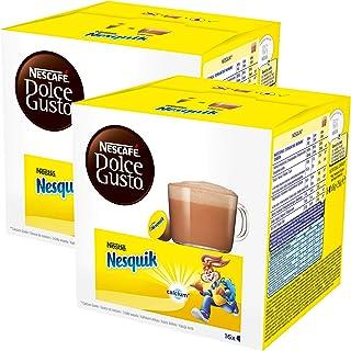 Nescafé Dolce Gusto Nesquik, Lot de 2, 2 x 16 Capsules