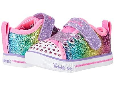 SKECHERS KIDS Twinkle Toes Sparkle Lite Sequins So Bright 314765N (Toddler)