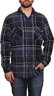 Men's Fleece Super Plush Shirt Jacket