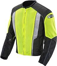 Joe Rocket Phoenix 5.0 Men's Mesh Motorcycle Riding Jacket (Hi-Vis Neon/Black, Small)