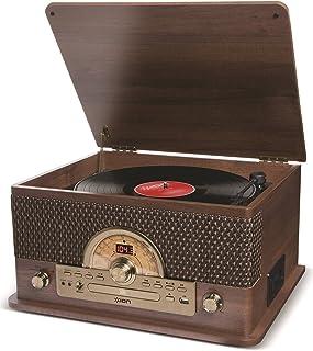 ION Audio Superior LP - Centro de Entretenimiento 7-en-1 con