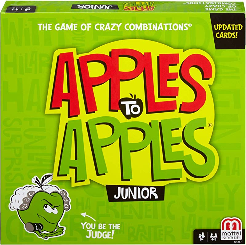 Mattel Games Apples To Apples Junior The Game Of Crazy Comparisons Packaging May Vary