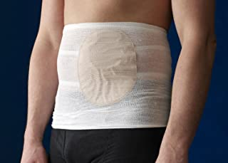 Stomasafe Classic Ostomy Support Garment, Large, 41-1/2