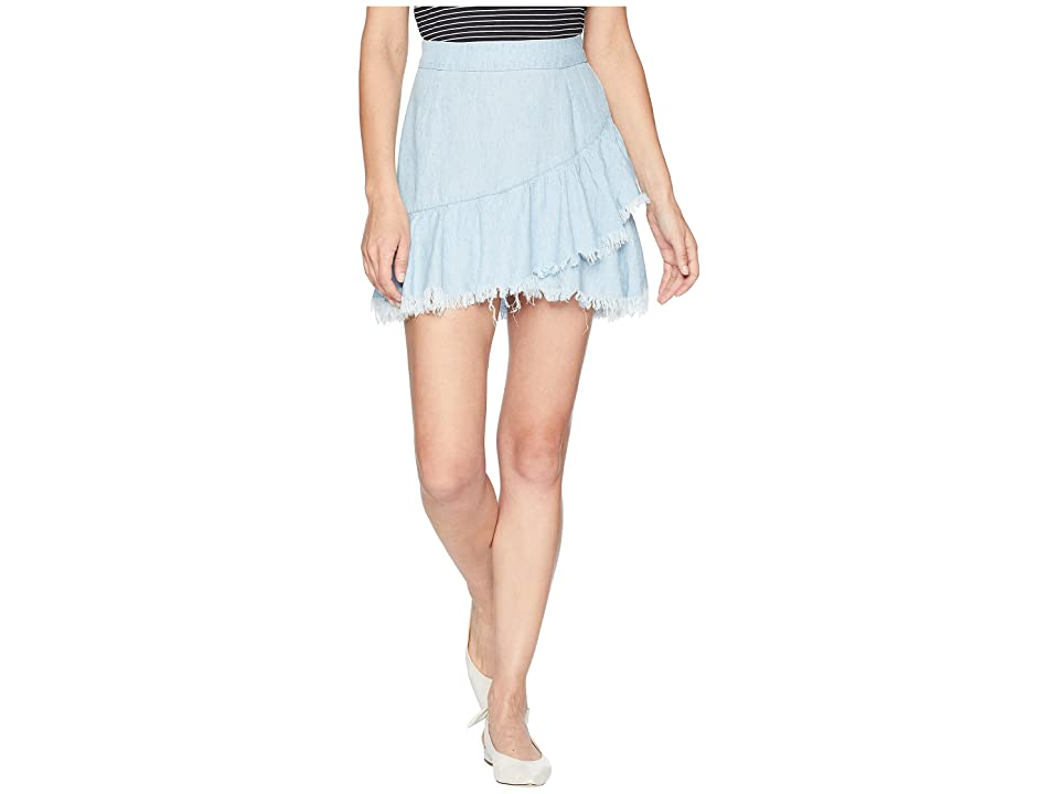Show Me Your Mumu Sunset Skirt (Light Chambray) Women
