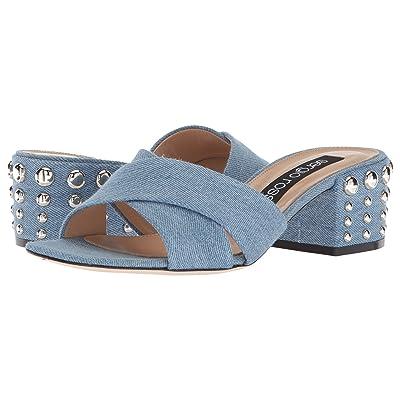 Sergio Rossi A80080-MFN315 (Blue Jeans) Women