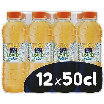 Font Vella Levité Agua Mineral con zumo de naranja - Pack 12 x ...