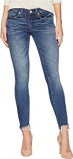 Denim Skinny with Bottom Zipper Detail in Interoffice