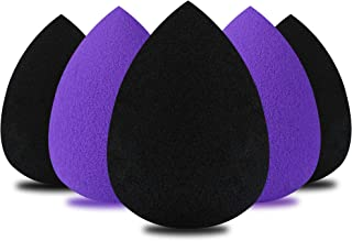 Makeup Sponge,Beauty Sponge blender set and Cosmetics Foundation Blending Sponges-For Powder,Cream or Liquid Application(5PCS) (001)