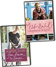 Sophie Dahl 2 Books Collection Pack Set RRP: £40 (From Season to Season: A Year in Recipes, Miss Dahl's Voluptuous Delights)