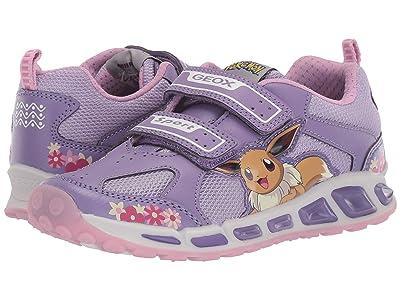 Geox Kids Shuttle 16 Pokemon (Little Kid/Big Kid) (Light Purple) Girl