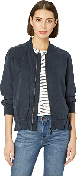 Tencel Twill Bomber Jacket
