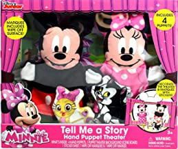 Tara Toy Minnie & Mickey Tell Me a Story Hand Puppet Theater (8 Piece)
