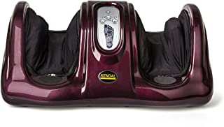 Kendal Foot Massager with Kneading Shiatsu Rolling 3-D Air Pressure Massage 8803-red