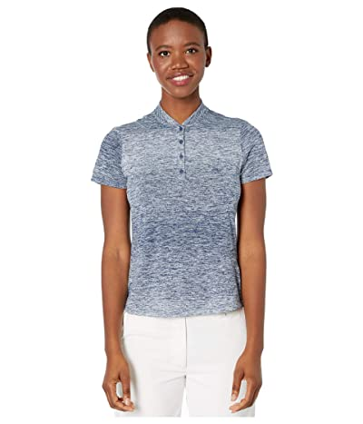 adidas Golf Gradient Polo Shirt (Sky Tint) Women