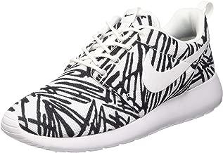 Nike Roshe One Rosheone Print Sneaker White/Black