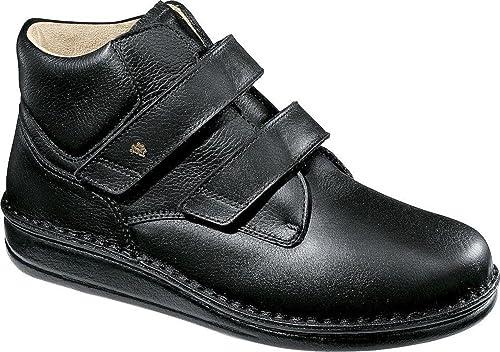 FinnComfort - Prophylaxe Stiefel 96106 mit Klettverschluss Schwarz- Größe 36