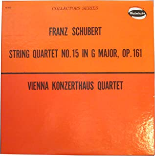 Collectors Series - Franz Schubert String Quartet No. 15 in G Major, Op. 161