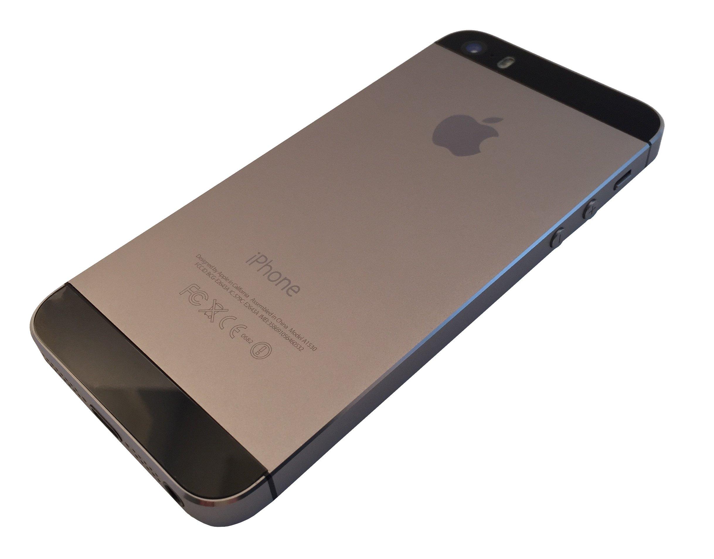 Apple - Smartphone libre iPhone 5s 16GB Gris: Amazon.es: Electrónica
