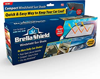 Ontel Brella Shield by Artic Air, Car Windshield Sun Shade, Large