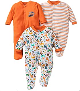 c80fd44ed3 EIO® Born Baby Multi-Color Long Sleeve Cotton Sleep Suit Romper for Boys and