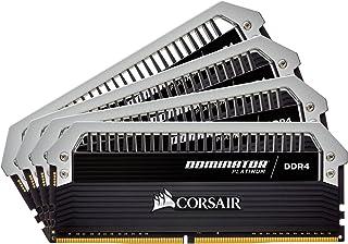 Corsair CMD32GX4M4A2666C15 Dominator Platinum 32 GB (4x 8 GB) 2666 MHz CL15 XMP 2.0 Memory Module