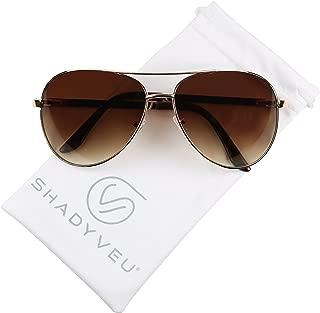heavy duty aviator sunglasses