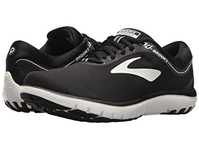 Brooks PureFlow 7 (Black/White) Women