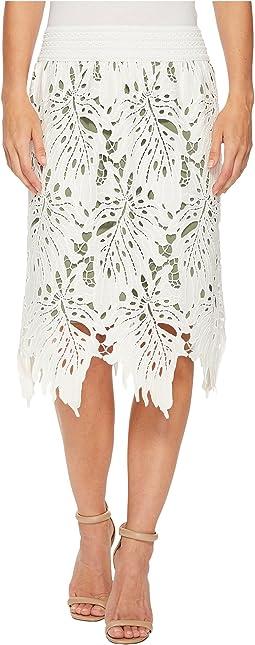 NIC+ZOE - Falling Lace Skirt
