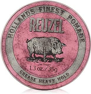 Reuzel Medium Sheen Pink Pomade, 1.3 oz