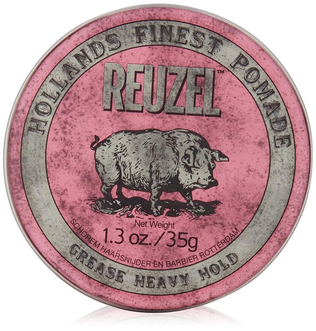 追跡カメ提供REUZEL INC Reuzelミディアムシーンポマード、1.3オンス 0.2 ピンク