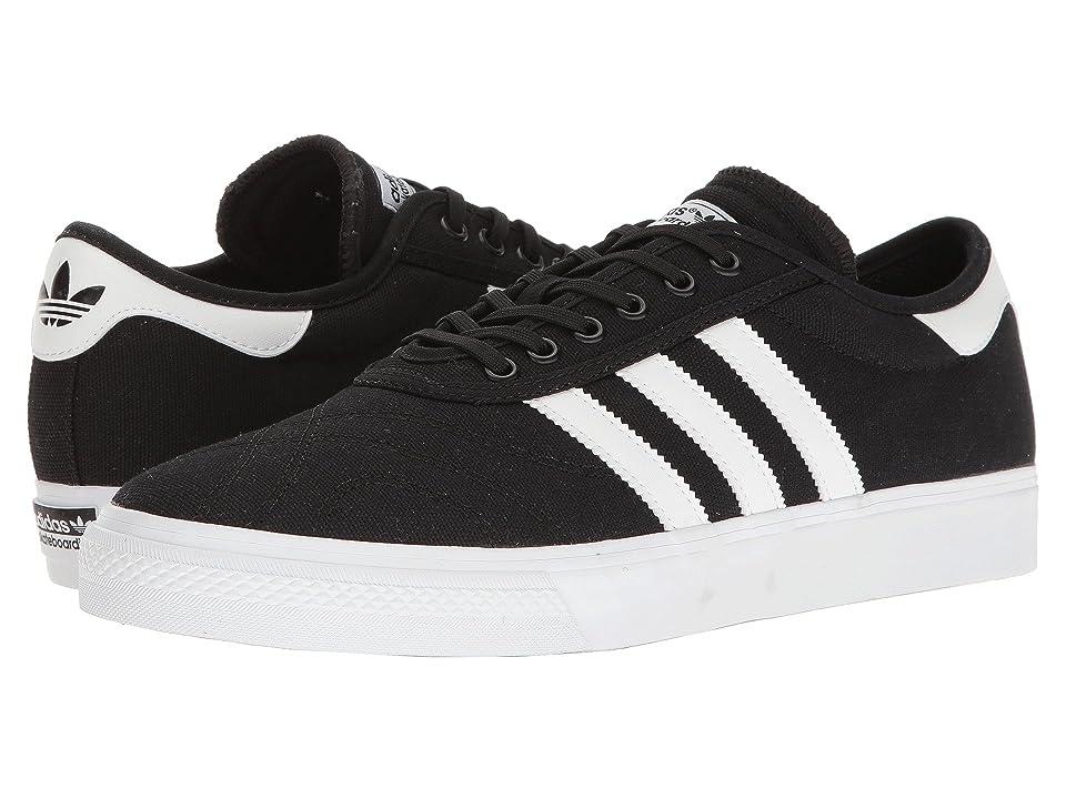 adidas Adi-Ease Premiere (Black/White/Gum) Men