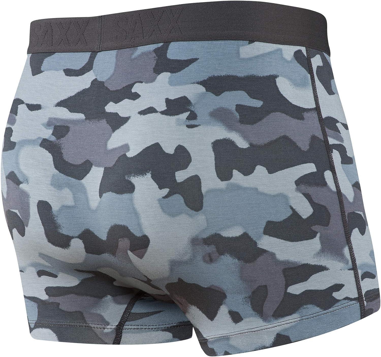 Saxx Underwear Men's Trunks– Ultra Trunk Briefs for Men with Built-in Ballpark Pouch Support, Core