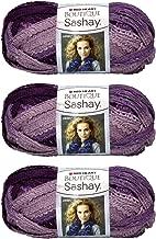 Bulk Buy: Red Heart Boutique Sashay Yarn (3-Pack) Boogie Purple E782-1960