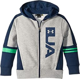 UA Full Zip Rival Hoodie (Little Kids/Big Kids)