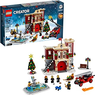 LEGO Creator Expert Winter Village Fire Station 10263 Building Kit, 2019 (1166 Pieces)