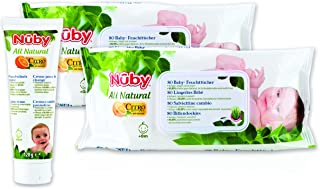 Nûby All Natural CGPACK6 Baby Care Set, White