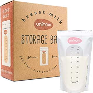 Unimom Premium 240ml Breast Milk Storage Bags (Pack of 50)