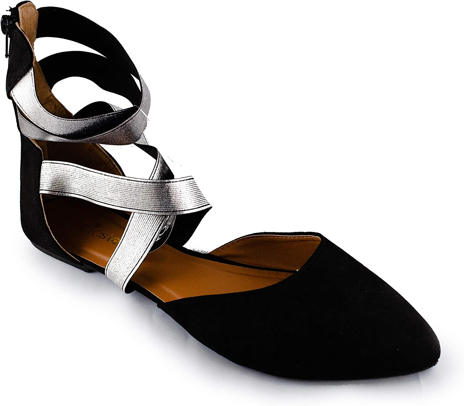 Susan 18 Elastic Strap Fashion Flats; Nice Ladies shoes; Casual shoes for Women