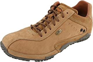 Woodland Mens Leather Casual Shoes Camel Colour Size: 42 EURO