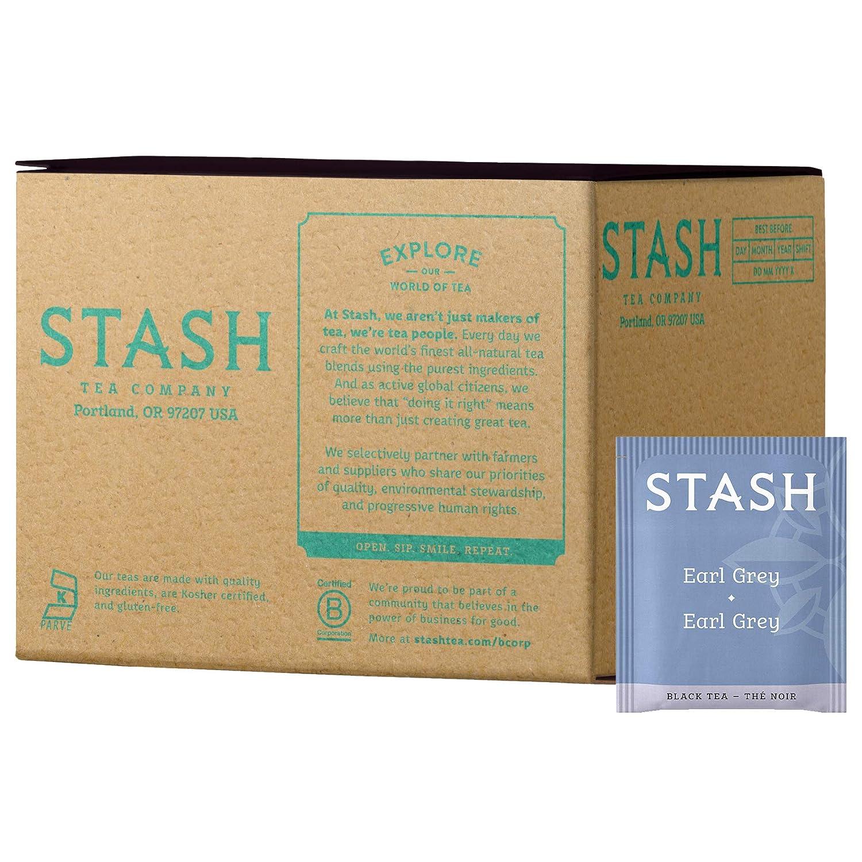 Stash Tea Ranking TOP3 Earl Grey Black Low price Box of 100 Bags Packaging Ma