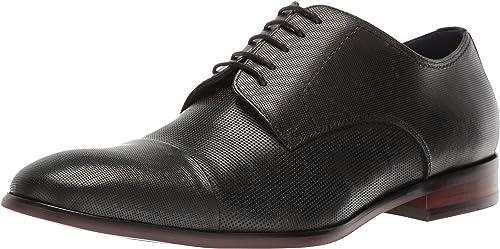 Steve Madden Hommes's Preston Oxford, noir Leather, 13 13 M US  design unique