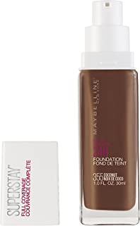 Maybelline Super Stay Full Coverage Liquid Foundation Makeup, Coconut, 1 Fl Oz
