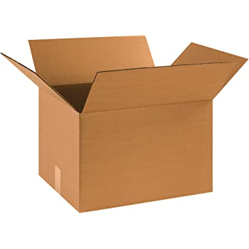 BOX USA Medium Moving Boxes (Pack of 20) for Packing, Shipping, Moving and Storage