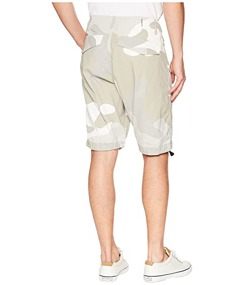 G-Star Rovic loose 1/2 Shorts Milk/Industrial Grey All Over Buy Cheap Collections WXjbriHGPK