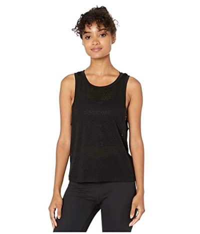 Beyond Yoga Mesh Me Up Muscle Tank (Black) Women