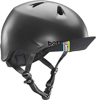 (バーン)Bern NINO(Visor付) キッズ向けボーイズヘルメット