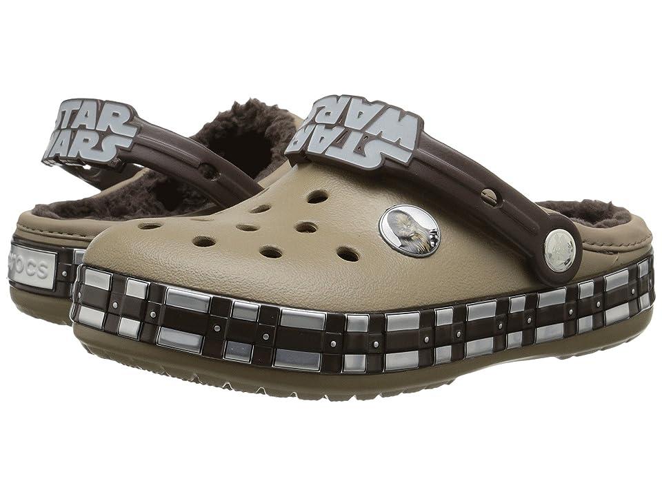 Crocs Kids CB Star Wars Chewbacca Lined (Toddler/Little Kid) (Khaki) Kids Shoes